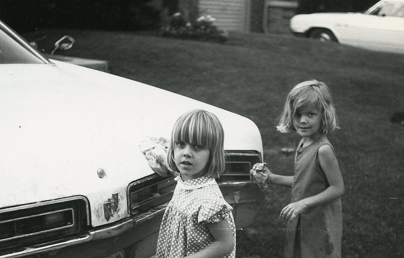 victoria+and+Susan+washing+the+old+Buick+circa+1970.jpg