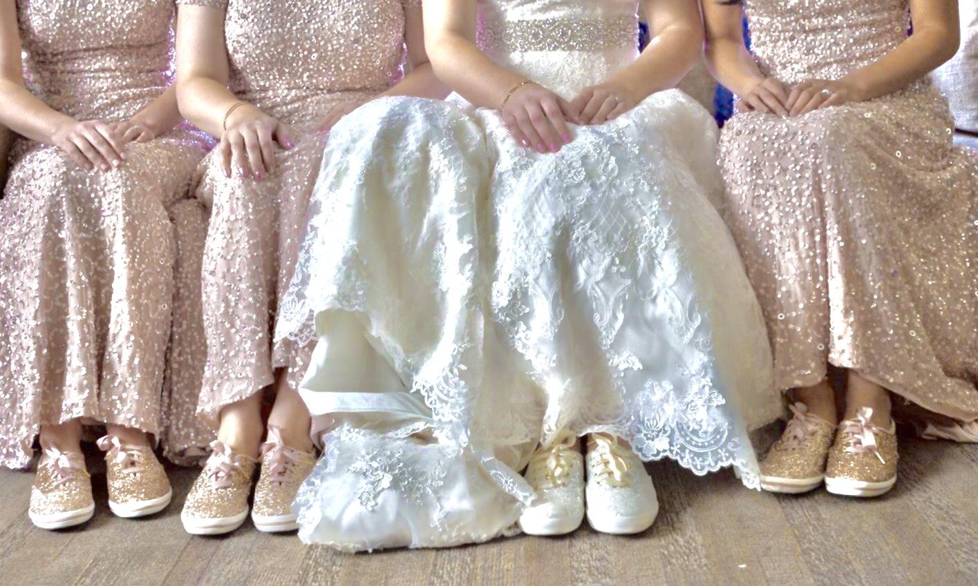 Bride and Bridesmaid in sneakers. revised.jpg