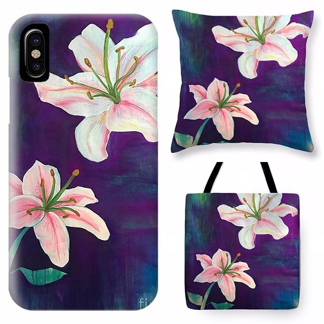 New products in the Yall Swag Shop! Painted Lilies by @catherinewhart with so many different options. All proceeds goes towards our next project! Check them out at the Yall Swag Shop on our website-link in bio ☝️