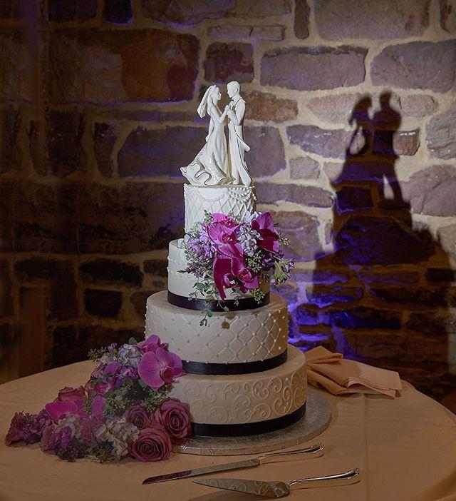 Topping off the night with a scrumptious work of art. : : #weddingcake #wedding #cake #caketopper #flowers #weddingreception #reception #justmarried #weddingphotography #philadelphiaphotographer #pandanggophotography #pandanggophoto