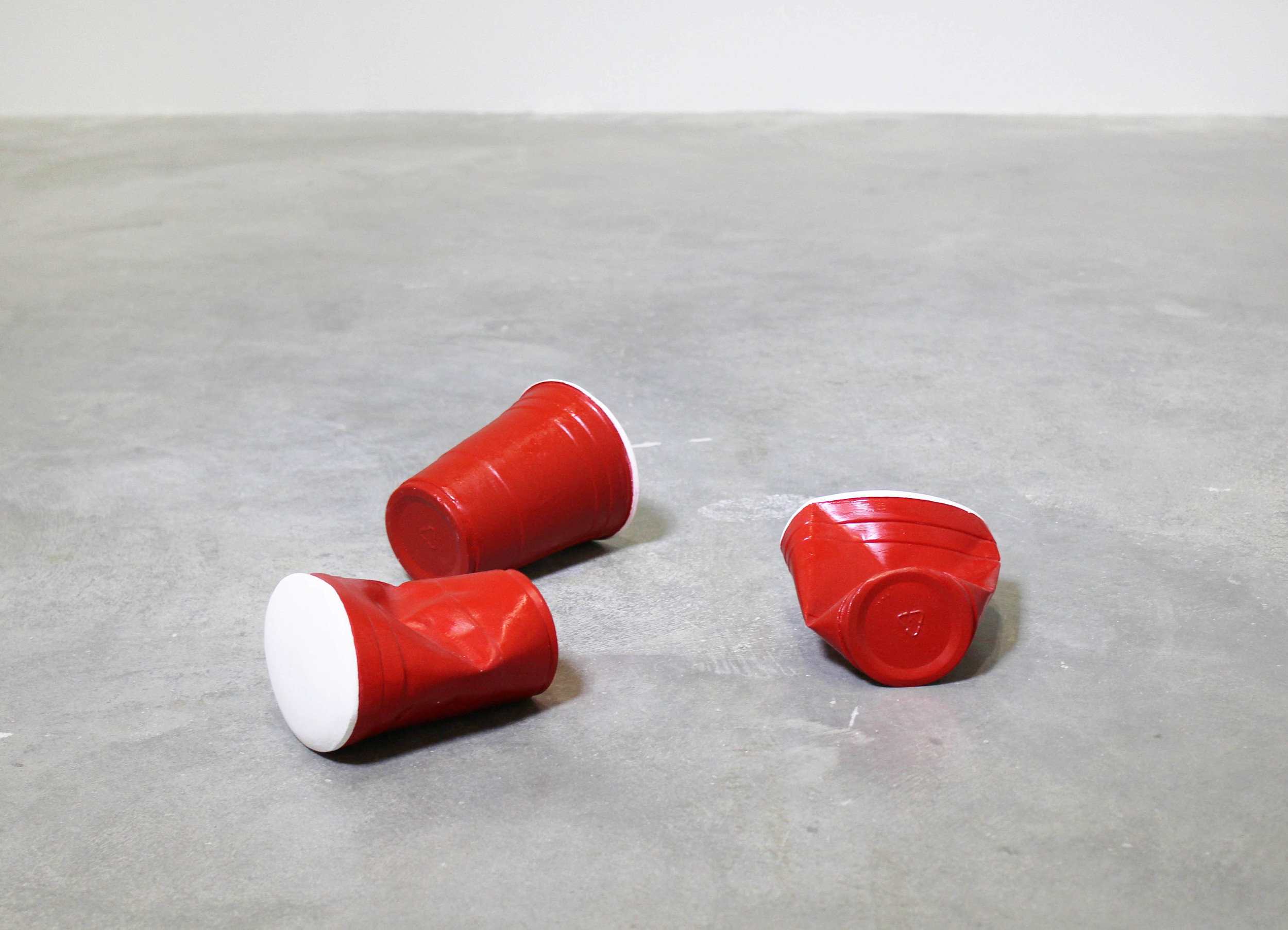 Untitled (Red Solo Cups), 2016