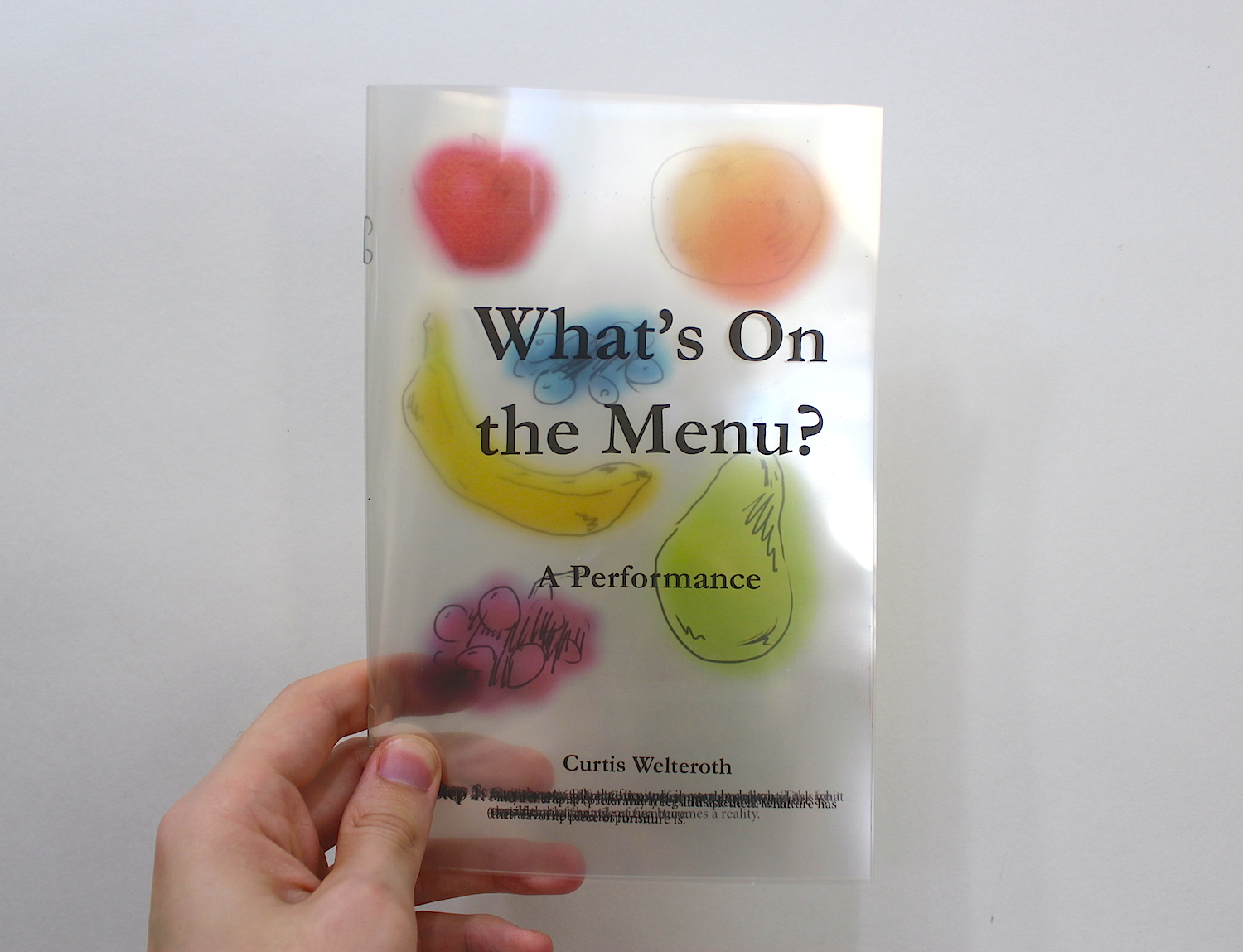 What's on the Menu? A Performance