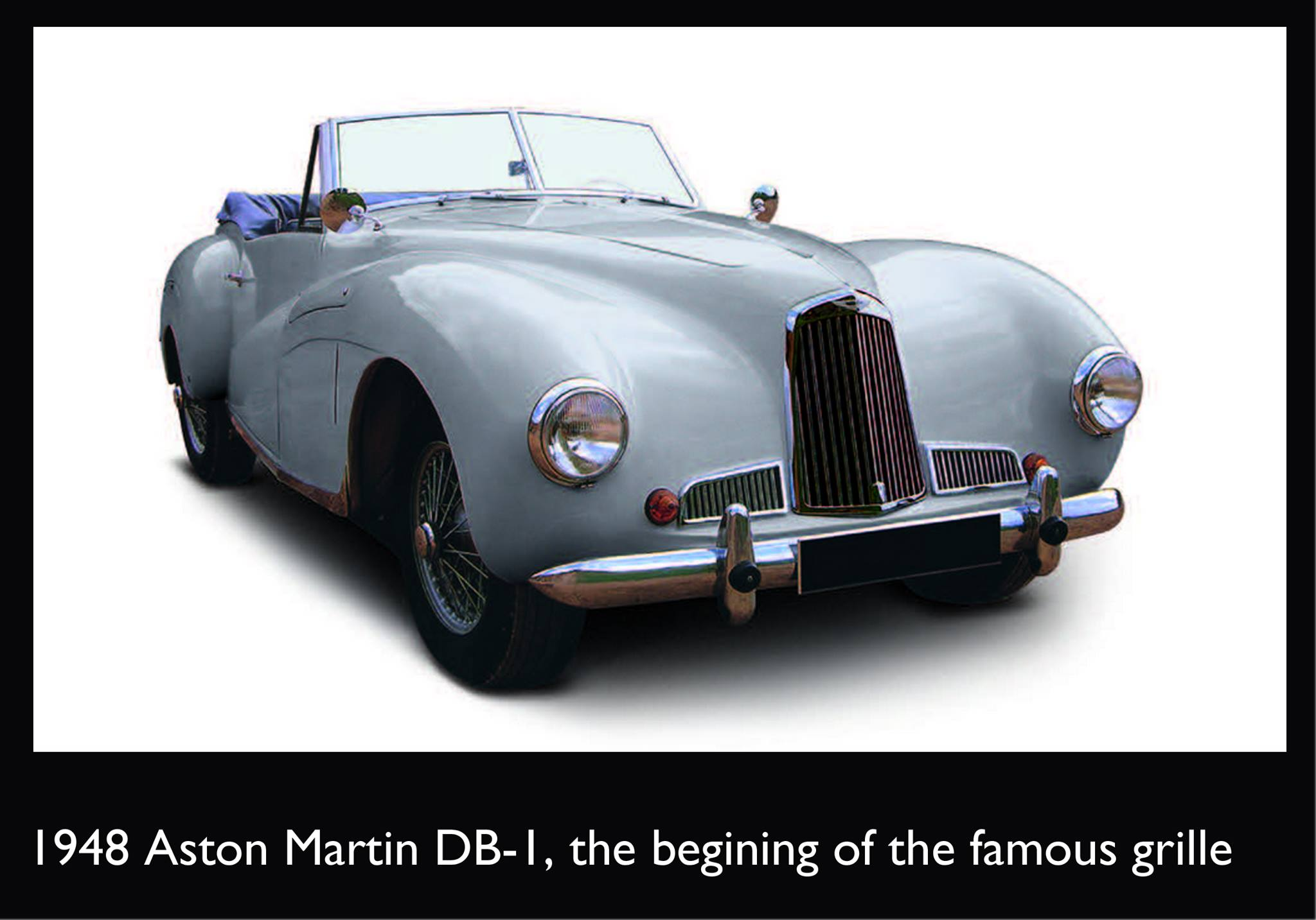1948 Aston Martin DB-1, o início da famosa grade