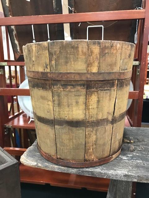 1800's Mustard Sap Bucket