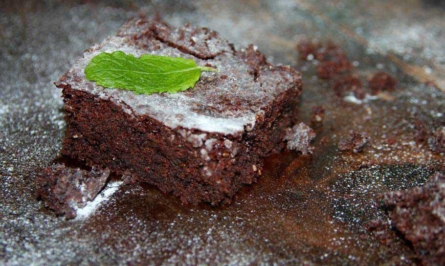 Mint Chocolate Chia Brownie