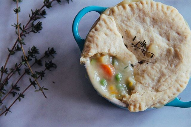 🌿Veggie Pot Pie 🌿#veganpotpie #healthyfood #vegan #comfortfood #snowdaydinner