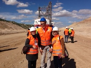 Amy at OCP Mining Tour in Morocco.jpg