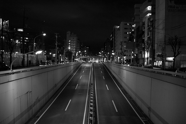 Empty Nakameguro