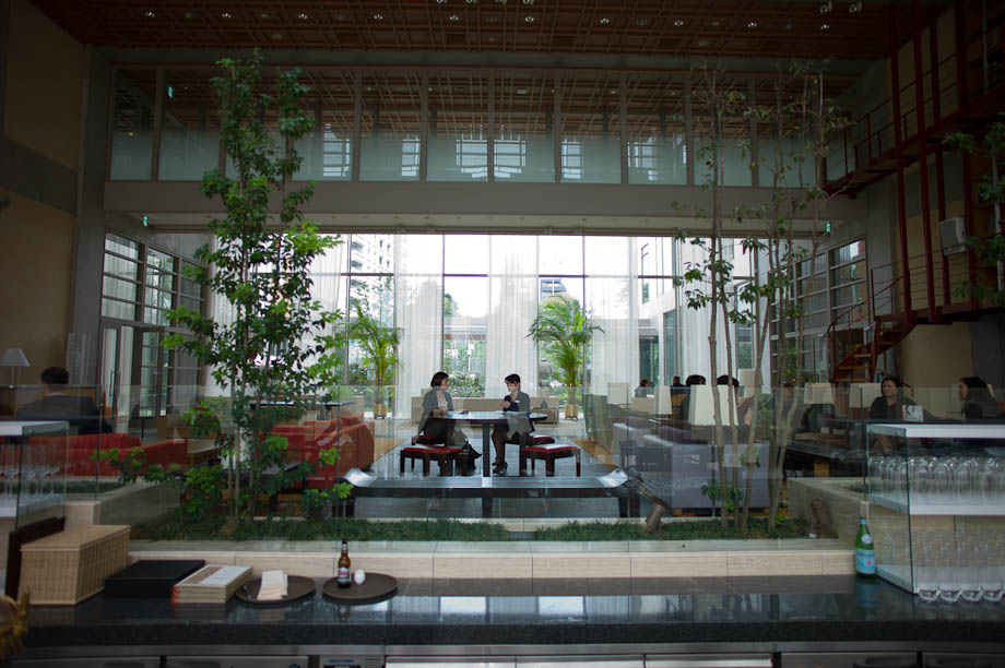 The Winter Garden at The Tokyo American Club in Tokyo, Japan