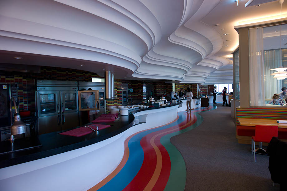 The Rainbow Cafe at The Tokyo American Club in Tokyo, Japan