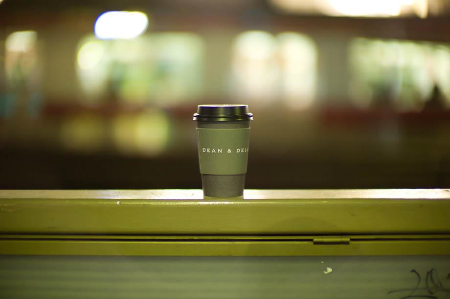Dean and Deluca Coffee in Tokyo, Japan