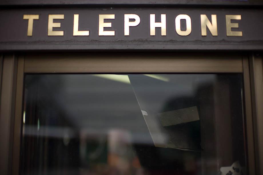 Telephone, Shinjuku, Tokyo, Japan
