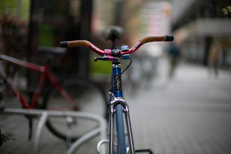 Bike in Shinjuku, Tokyo, Japan