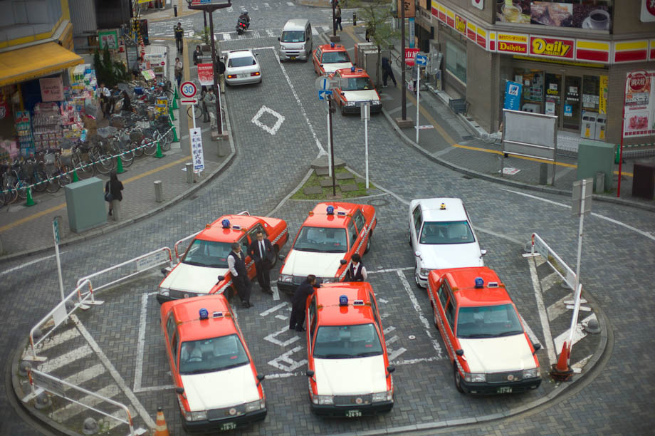 Small Taxi Stand