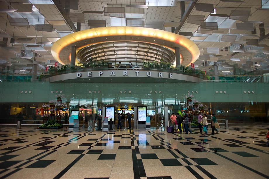 Departures, Singapore Airport