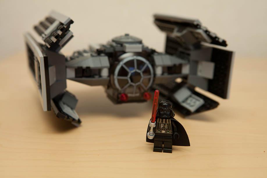 LEGO Star Wars 8017 Darth Vader's TIE Fighter スターウォーズ ダースベーダー TIE ファイター 8017
