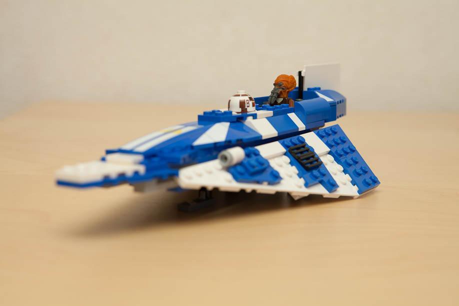 LEGO Star Wars 8093 Plo Koon's Jedi Starfighter 8093スターウォーズレゴPLOのクーンさんはジェダイスターファイターのペン先