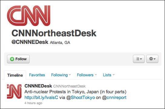 CNN Tweet on ShootTokyo