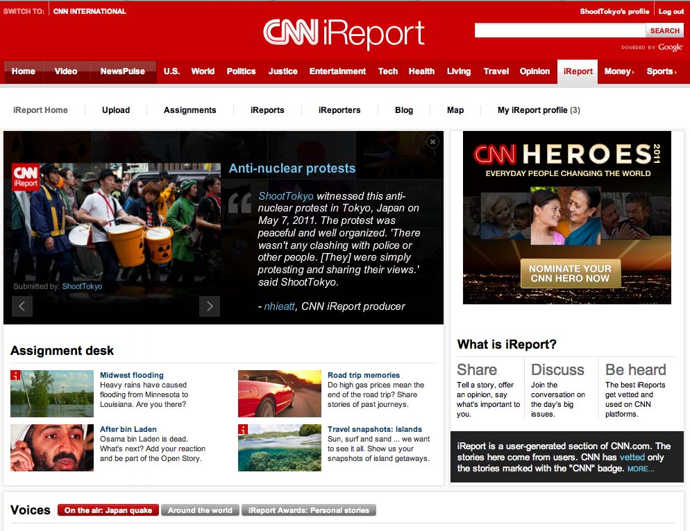 ShootTokyo on CNN