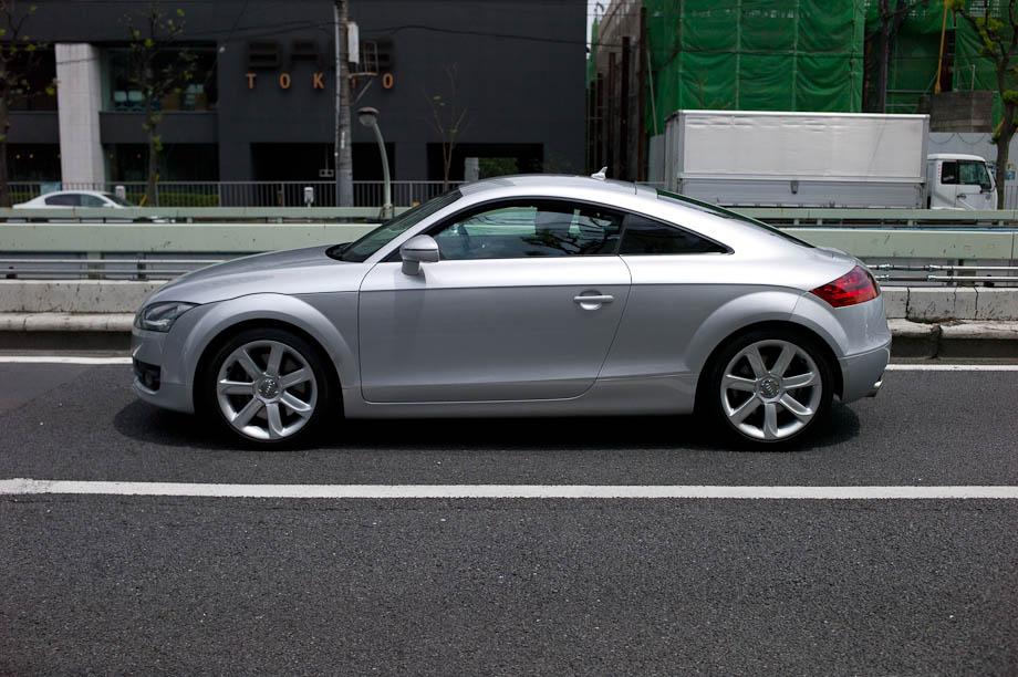 Audi TT in Tokyo, Japan