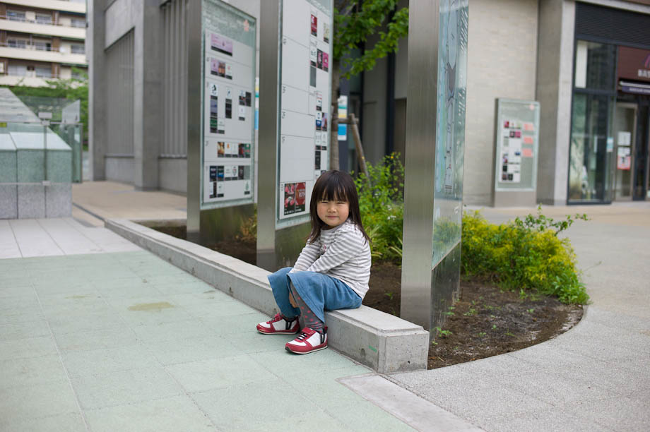 Cute kid in Nakameguro