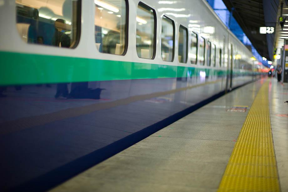 Tokyo Station Shinnkansen Tracks