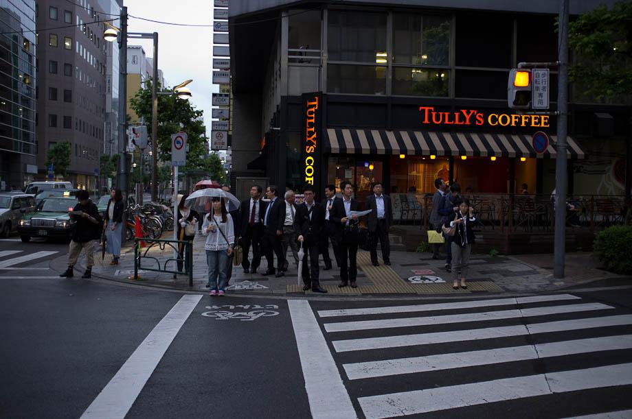 Tully's in Shinjuku