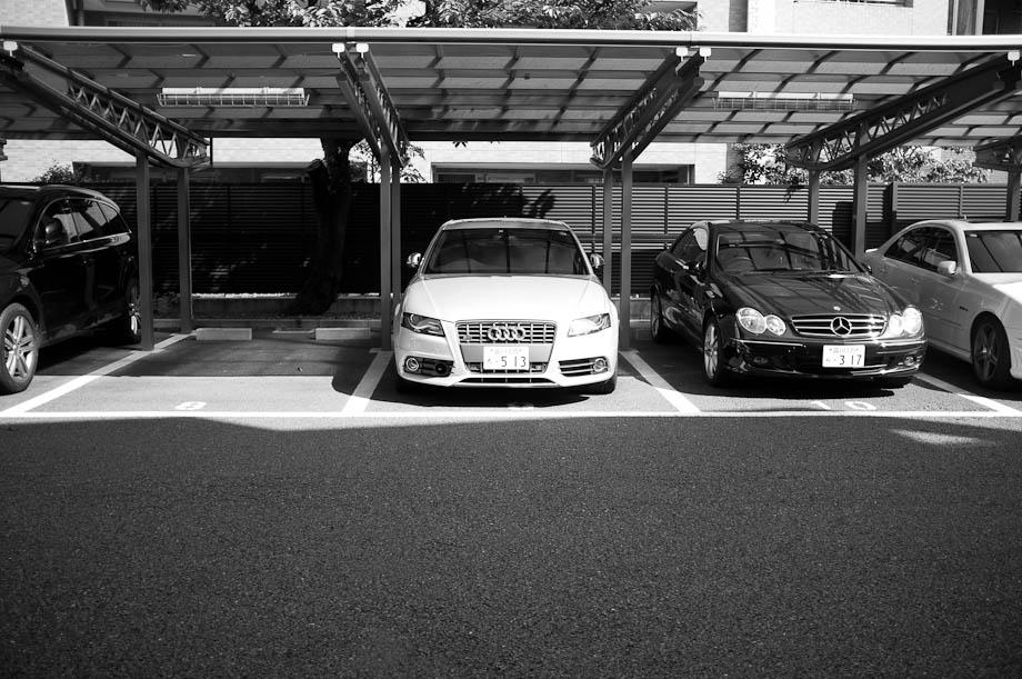 My parking lot
