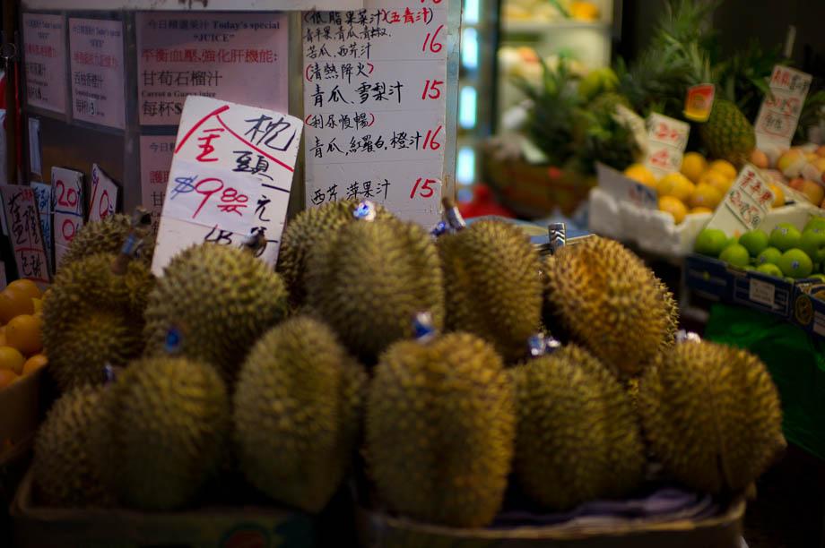 Wang Chai Market in Hong Kong