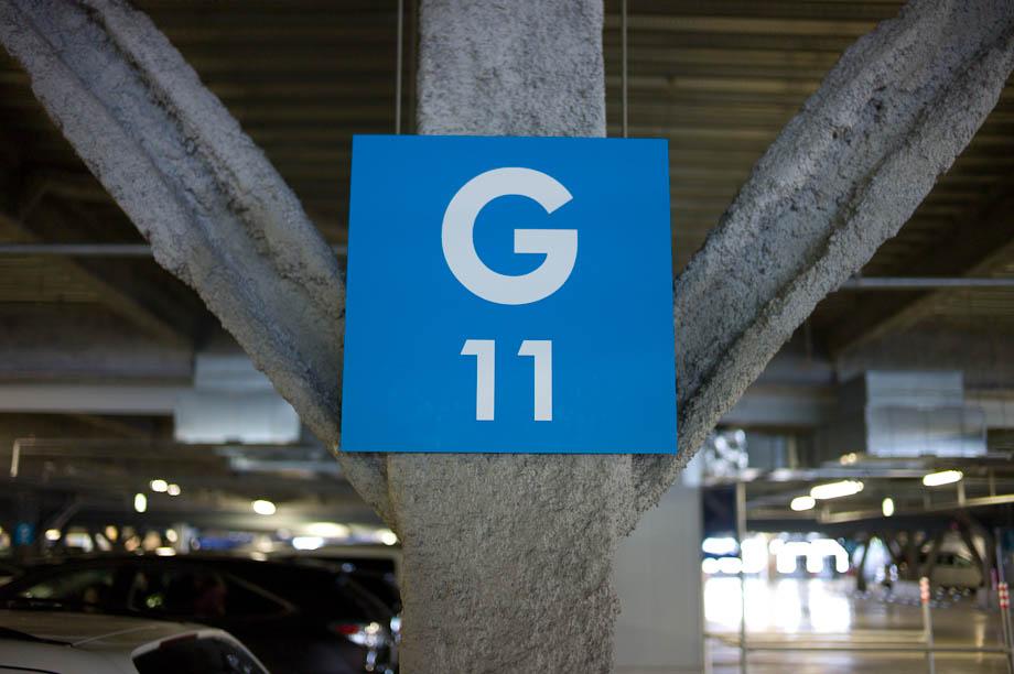 G11 Parking at IKEA in Yokohama, Japan