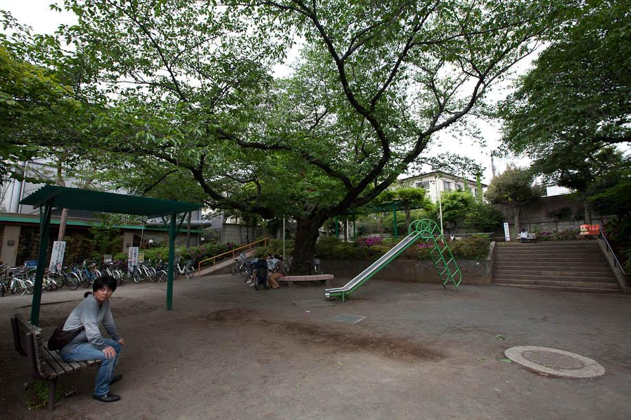 Park next to my new house in Jiyugaoka, Tokyo, Japan