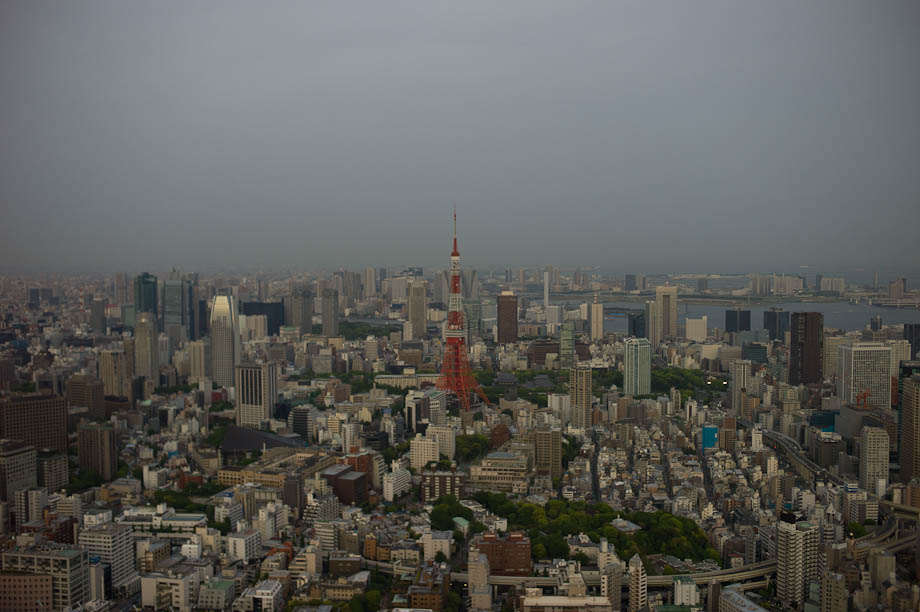 A view of Tokyo from Roppongi Hills Sky Deck