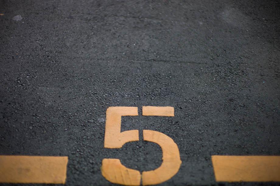 Parking Space #5 in Shibuya, Tokyo, Japan