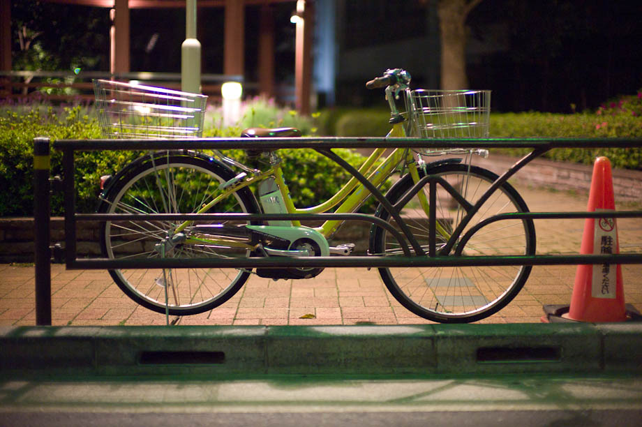 Bike in Shibuya, Tokyo, Japan