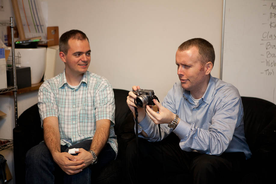 Dave Powell with a Fuji Film x100