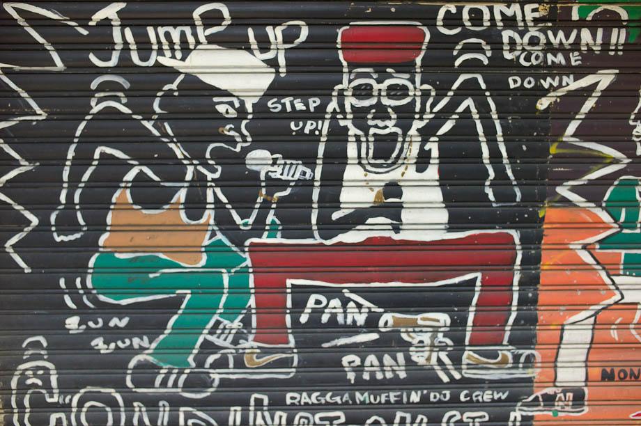 Graffiti in Harajuku