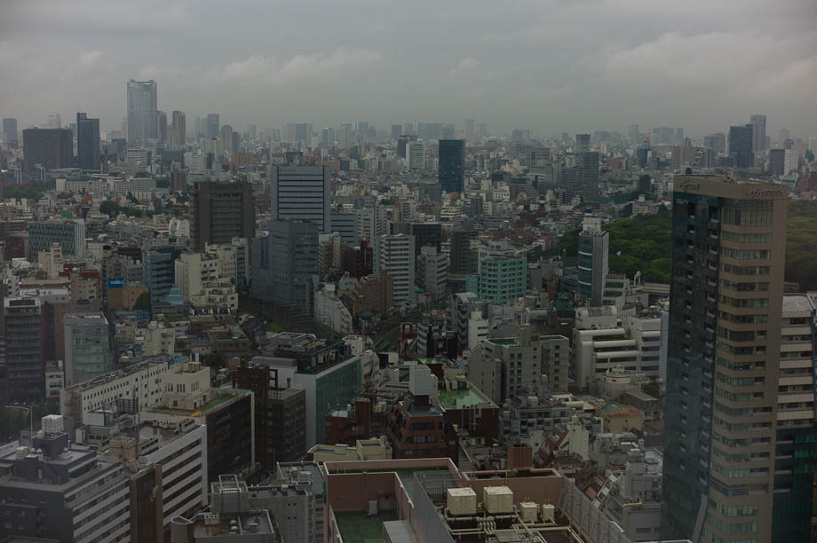 A gray day in Tokyo