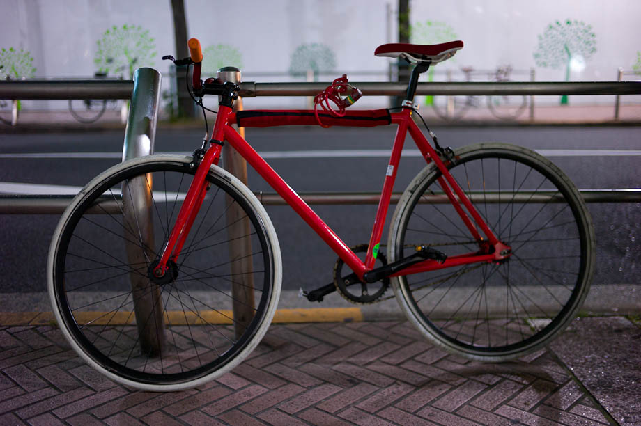 Bike in Shibuya