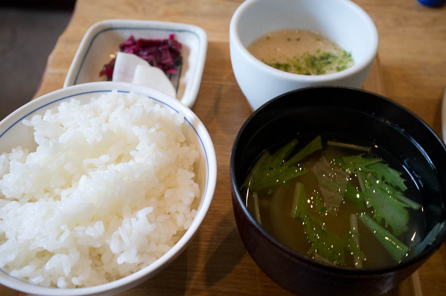 Lunch at Ren in Jiyugaoka