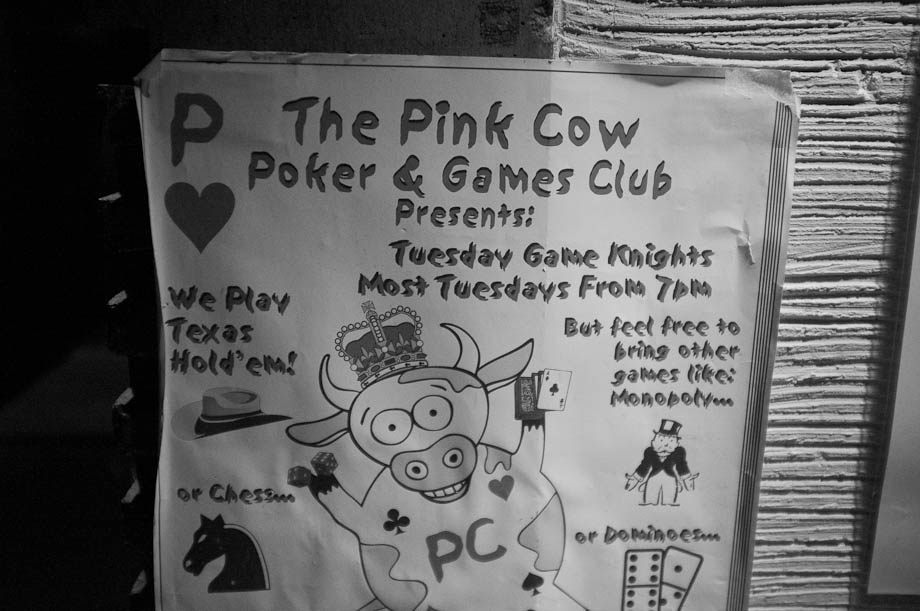 The Pink Cow in Shibuya