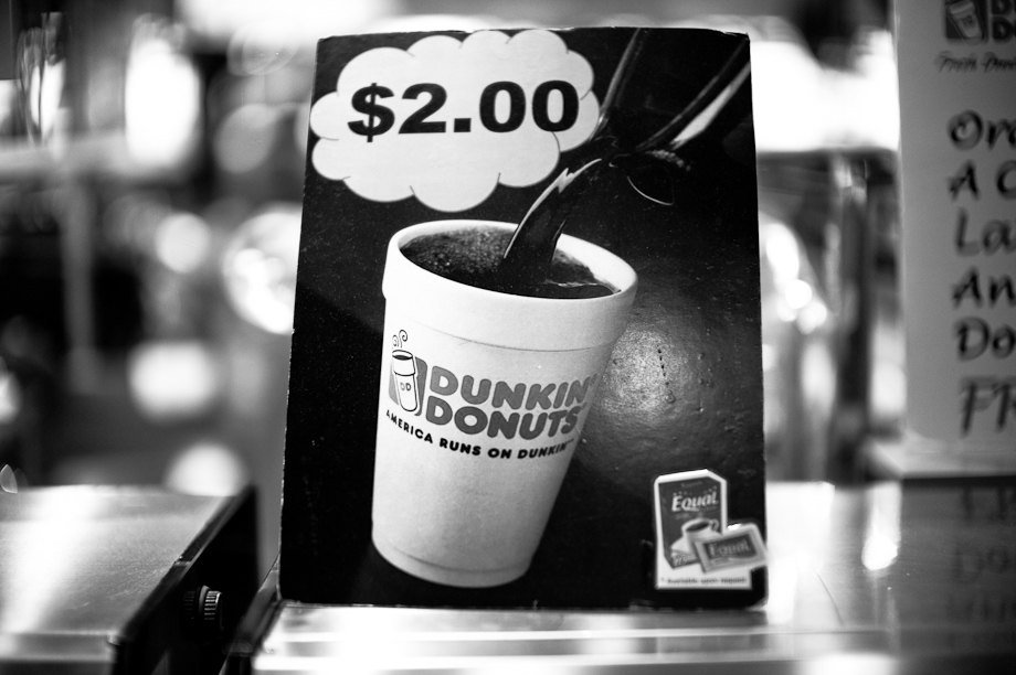 Dunkin Donuts in Changhi Airport