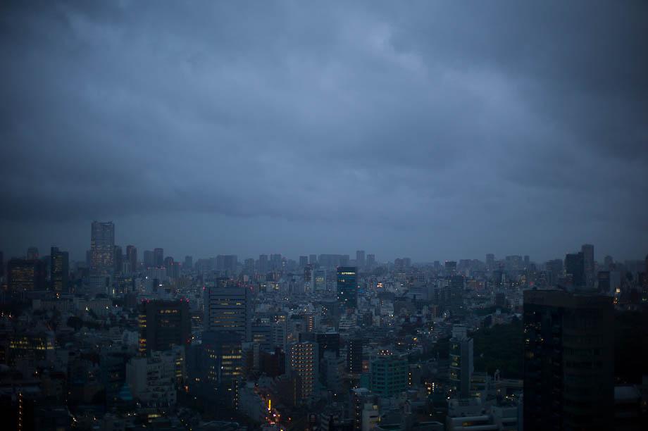 Storm over Tokyo