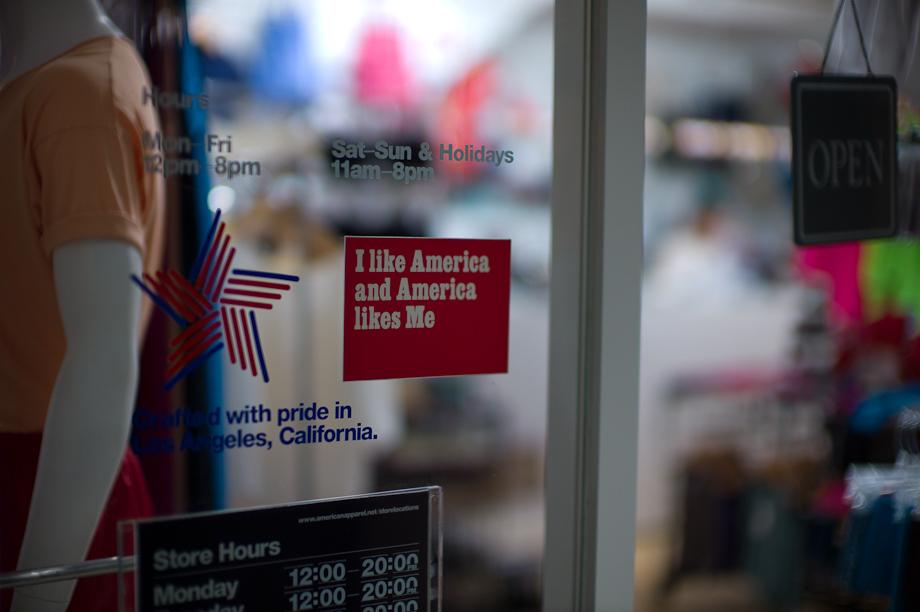 I like America and America likes me