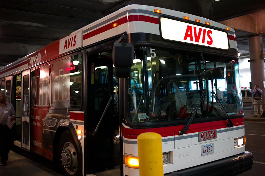Avis Rent A Car Bus