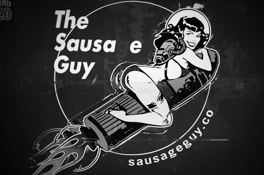 The Sausage Guy at Fenway Park in Boston