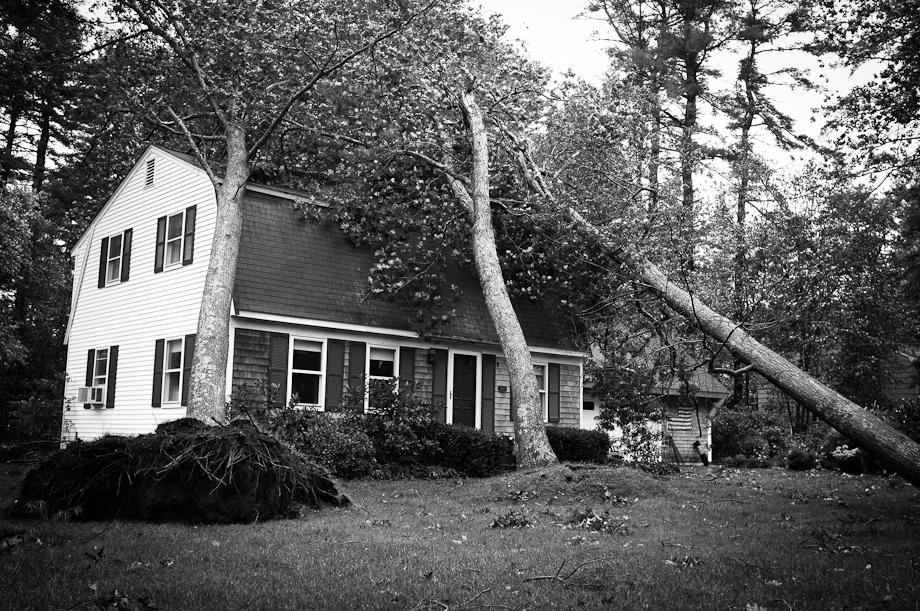 Hurrican Irene Damage