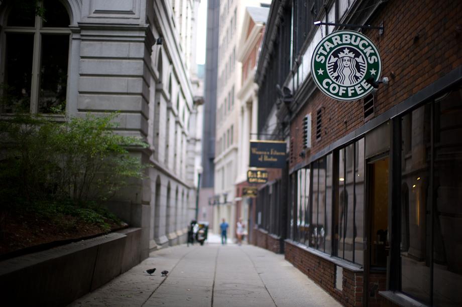 Starbucks in Boston