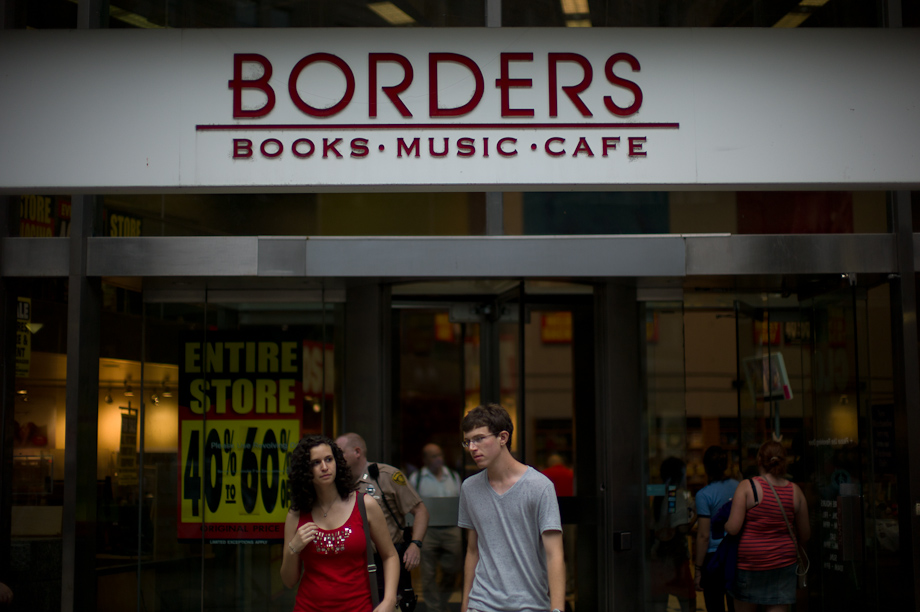 Borders is closing