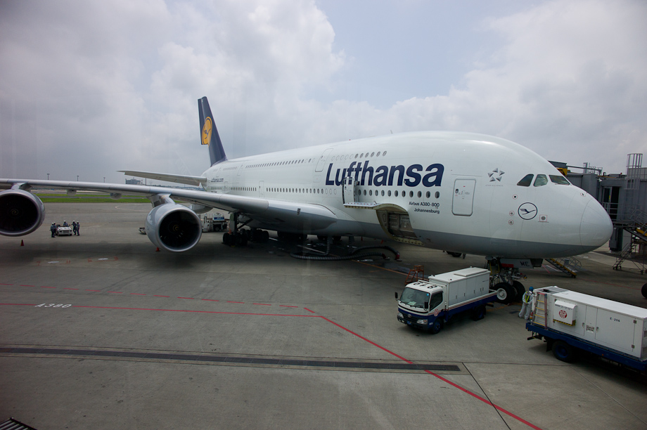 Air Bus A380 at Narita Airport