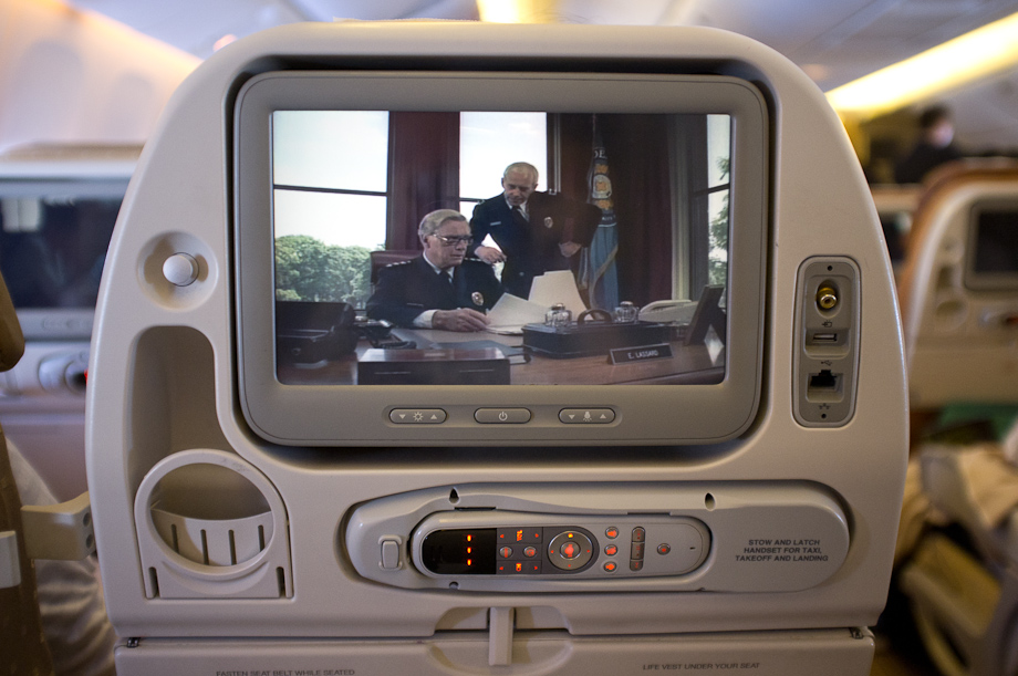 TV on Singapore Airlines
